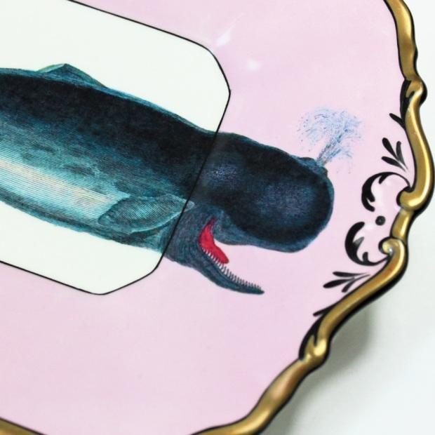 bandeja baleia cute