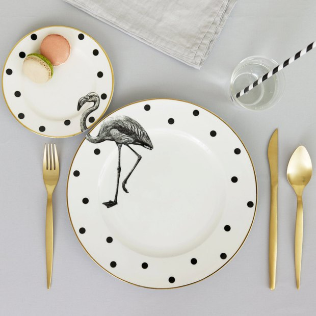 prato cute vintage flamingo