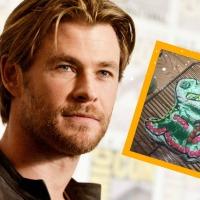 O Thor fez um bolo de dinossauro pra filha dele e eu só consigo pensar nisso agora